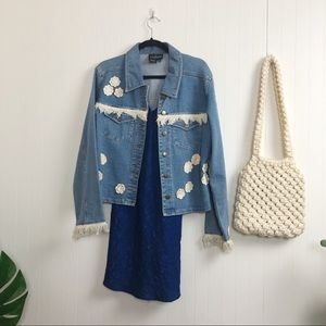 Vintage: Carol Little Denim Jacket - M-L